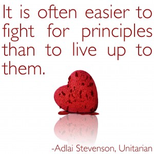 Stevenson Quote