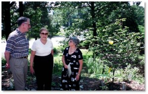 First Parish of Sudbury, Memorial Garden, Memorial Service