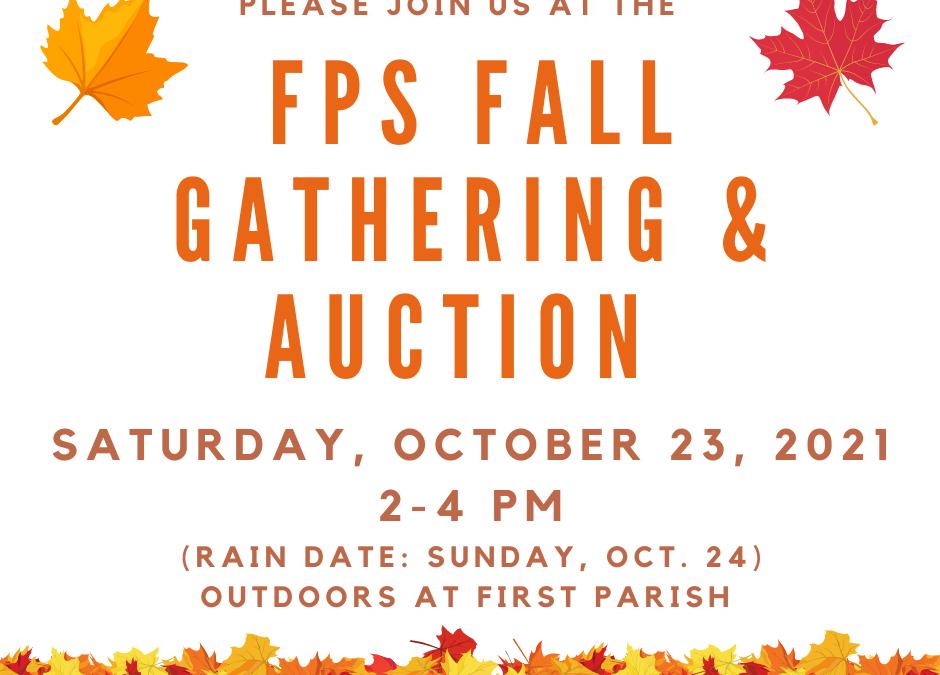 First Parish Fall Auction