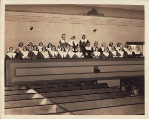 Choir In Balcony 1939